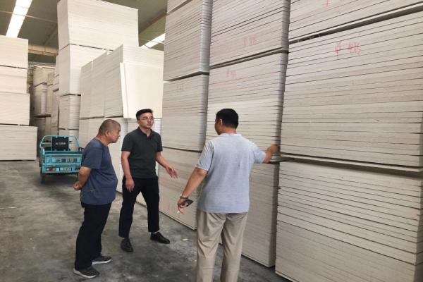 中国菱镁行业协会常务副会长曹长坤一行到山东调研